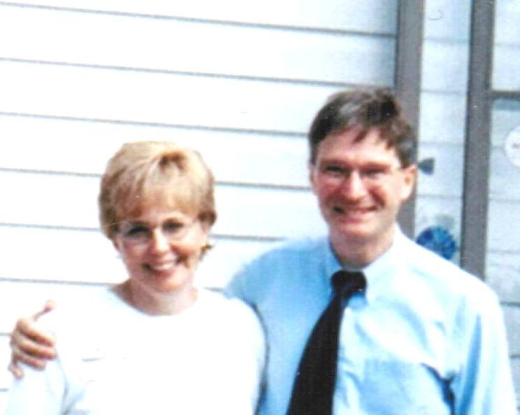 Tom & Diane in front of RPC brighter